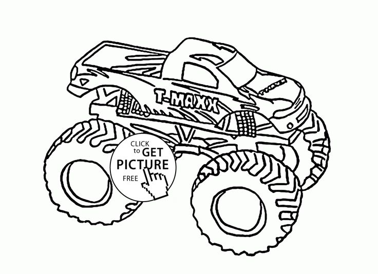 736x534 86 Best Monster Truck Coloring Pages Images