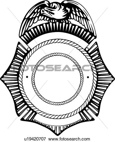 381x470 Cop Clipart Police Badge