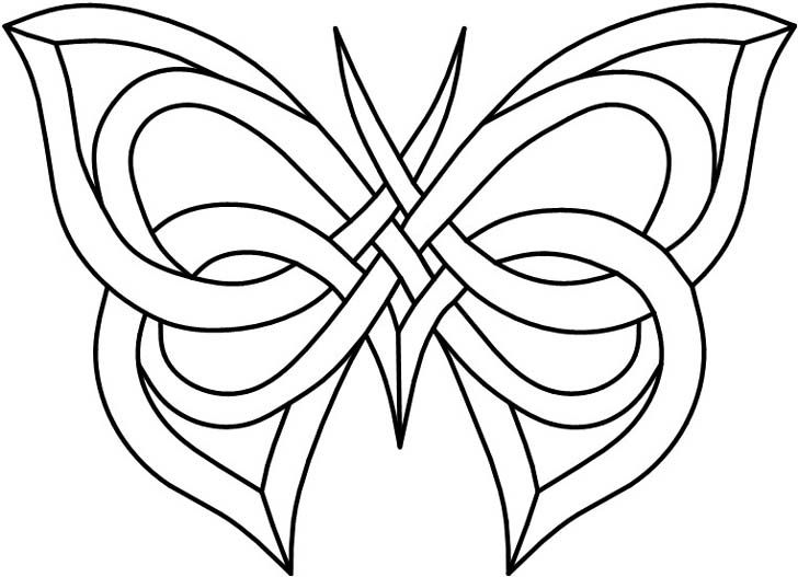 728x527 Butterfly Stained Glass Patterns Legs And Antenna Are Copper