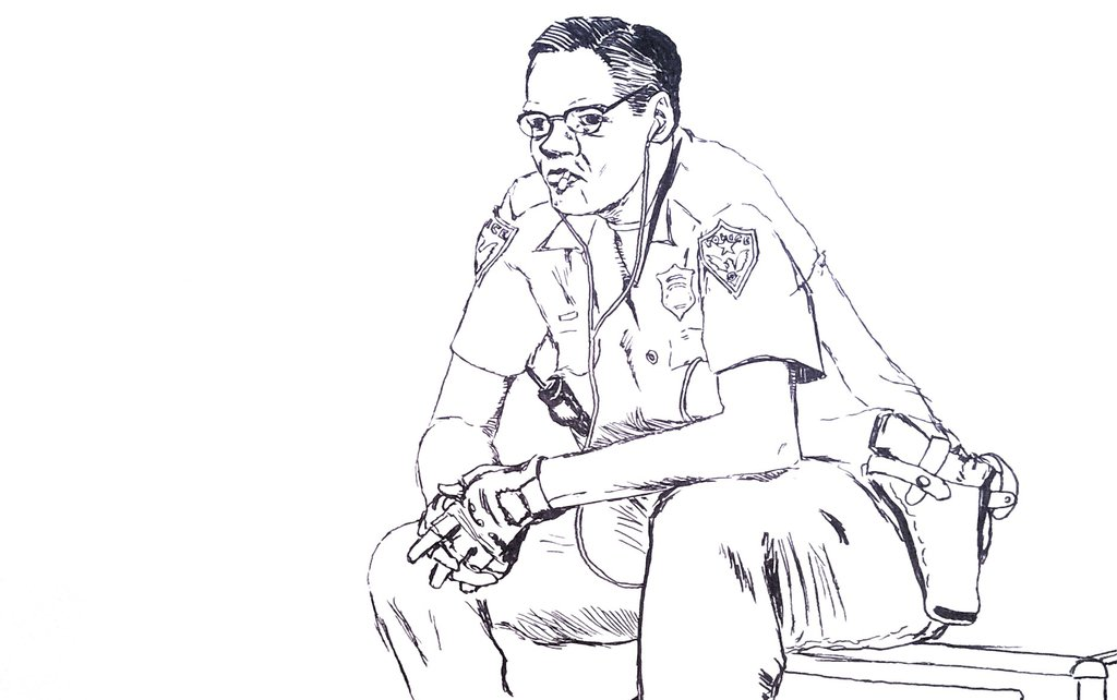 Cops Drawing