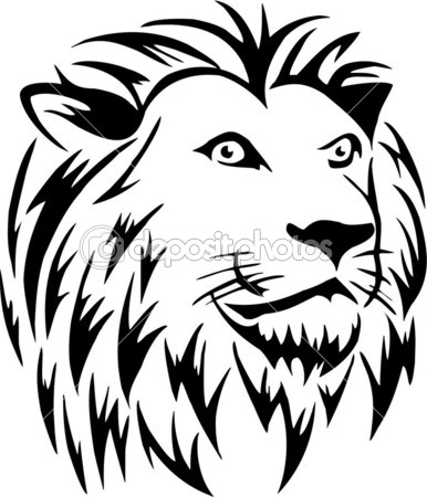 386x450 Vectorized Logo Performed With Coreldraw X5 Lions Head For Pat'S