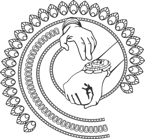 600x574 Rakshabandhan Concept Hand With Rakhi Free Vector In Coreldraw Cdr