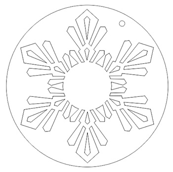 350x348 How To Create A Snowflake Ornament In Corel X6