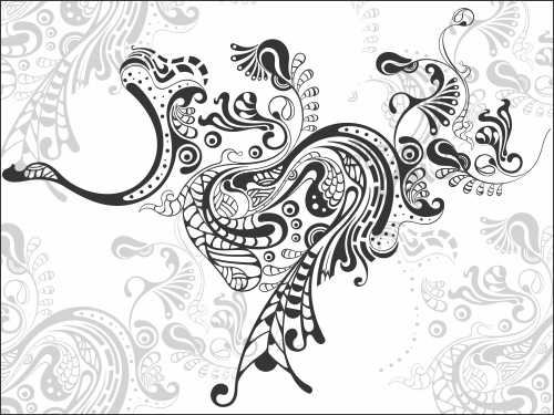 membuat line art vector dengan corel draw