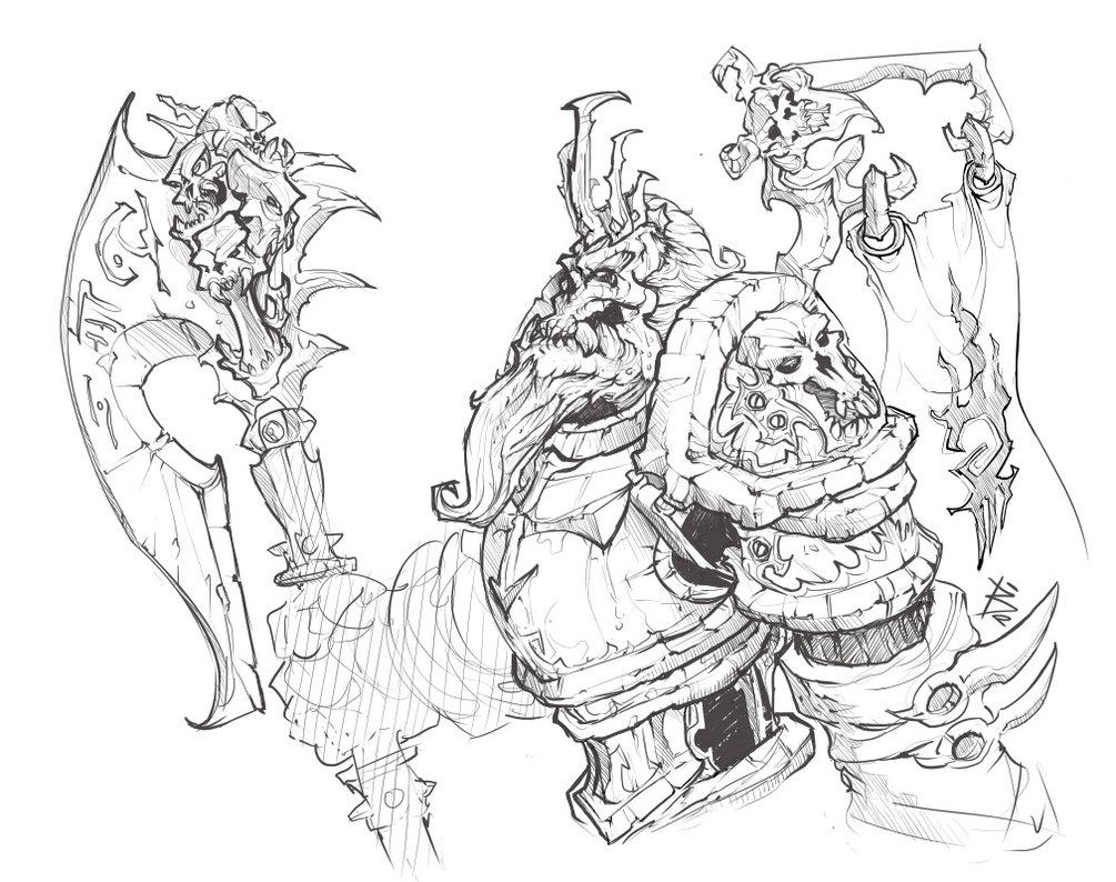 1005x794 More Coreldraw Sketching By Wintergoesdraw