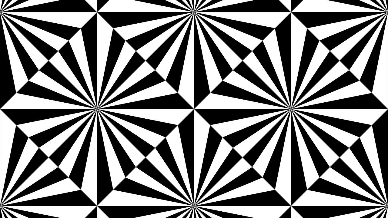 1280x720 Simple Geometric Drawings ( Black Amp White ) In Coreldraw 2017