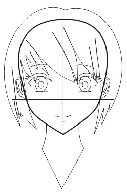 248x379 Cara Membuat Wajah Anime Atau Manga Dengan Coreldraw Keripik Citul