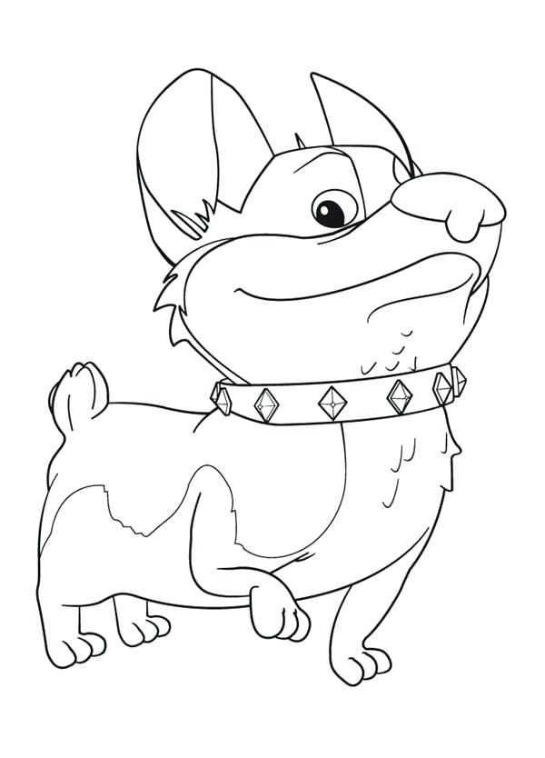 600x834 Corgi Coloring Pages Dog Corgi Puppy Coloring Pages