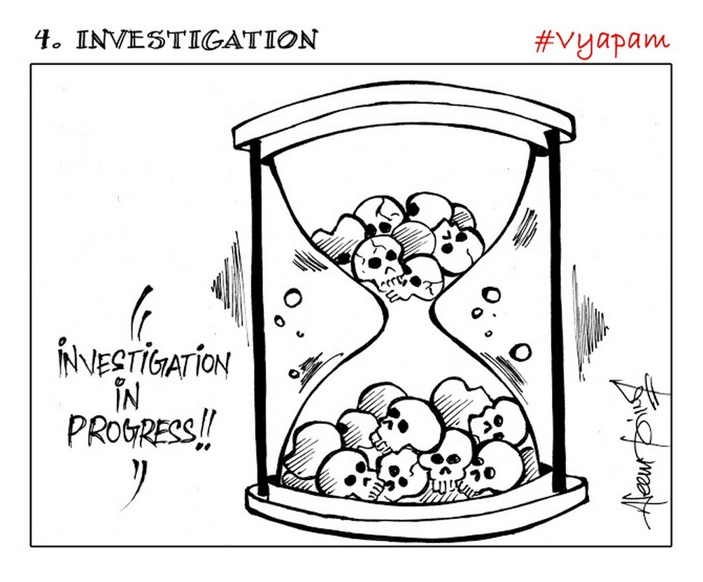 1005x833 Check Out These 10 Cartoons On The Vyapam Scam By Aseem Trivedi