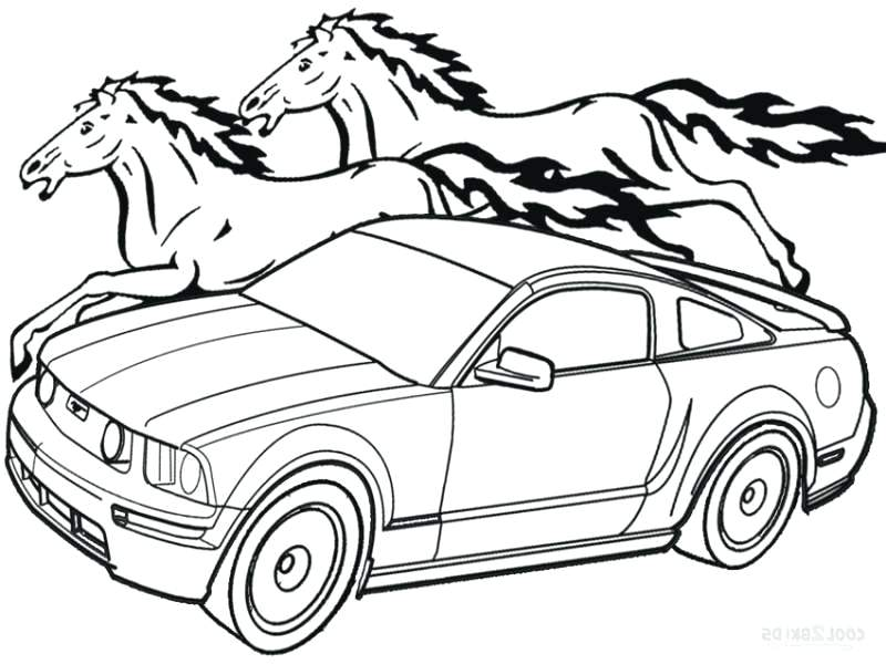800x600 Mustang Car Coloring Pages Corvette Classic Coloring Page Corvette