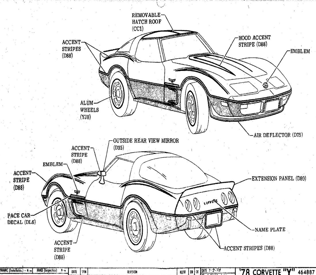 1100x959 1978 Corvette Factory Assembly Instruction Manual