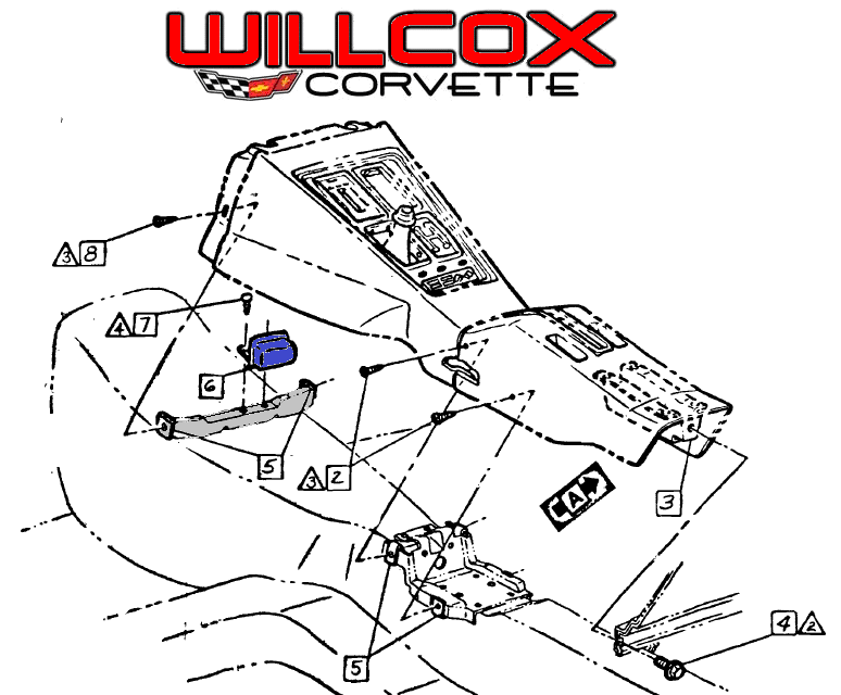 774x640 1968 1972 wiper relay location willcox corvette, inc