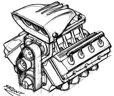 Corvette Z06 Drawing At Getdrawings Com