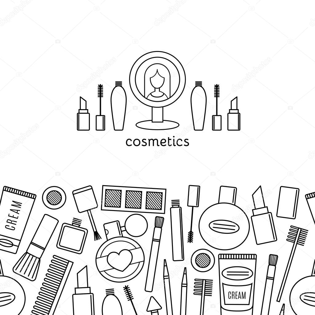 Cosmetics Drawing
