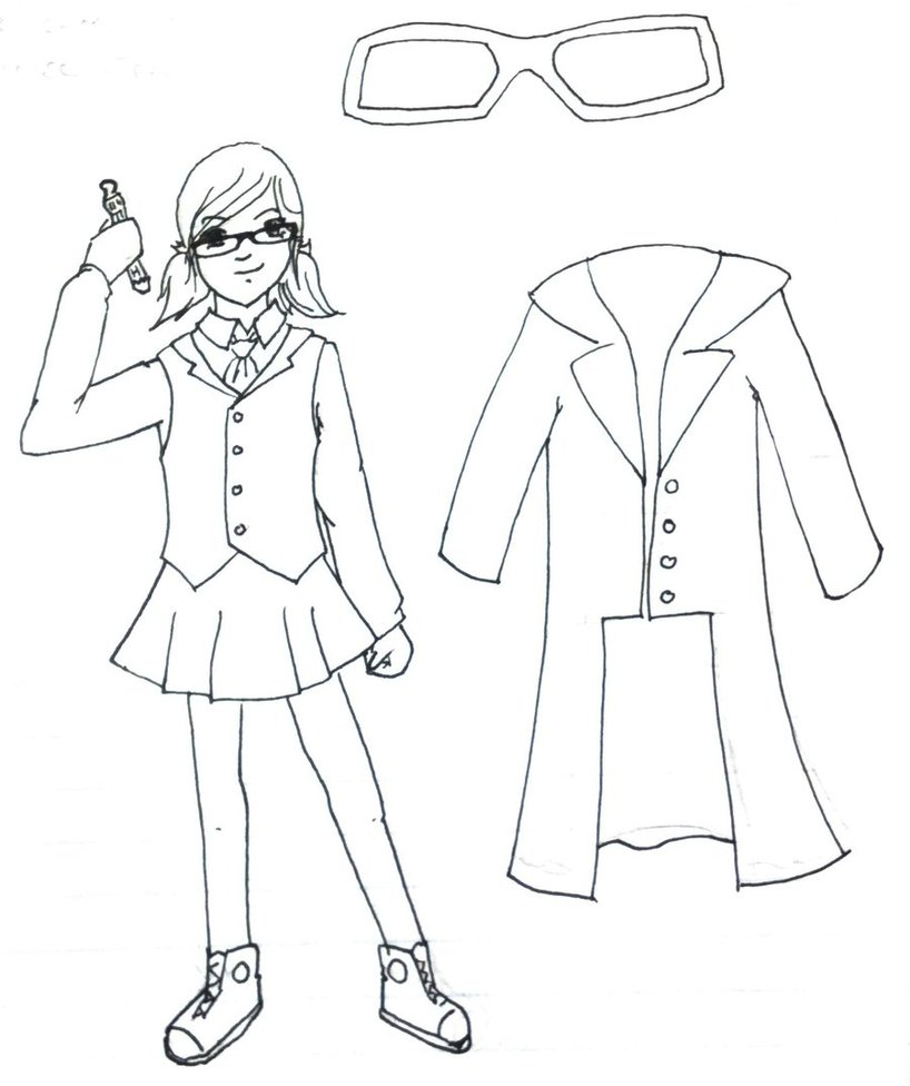 818x976 Tenth Doctor Costume Sketch By Wolframlogistics
