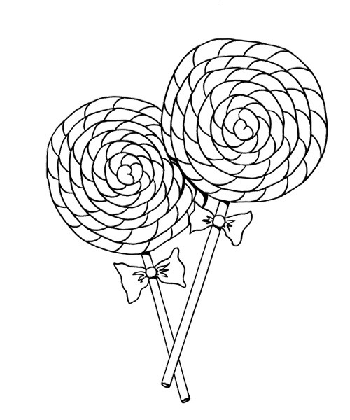 500x600 Cotton Candy Cane Coloring Page Coloring Pages Amp Activity Sheets