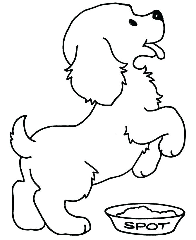 670x820 Paw Print Coloring Page A Vector Monochrome Hand Drawn