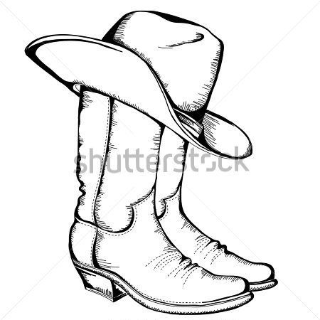 450x450 How To Draw A Cowboy Step By Step