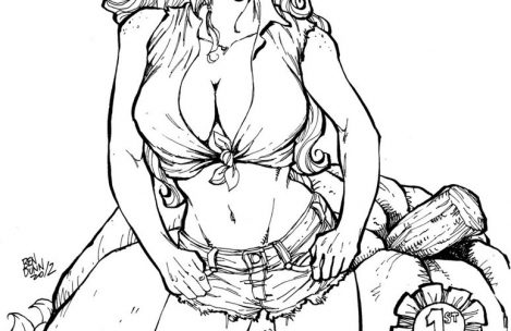 469x304 Country Girl Coloring Pages Just Colorings