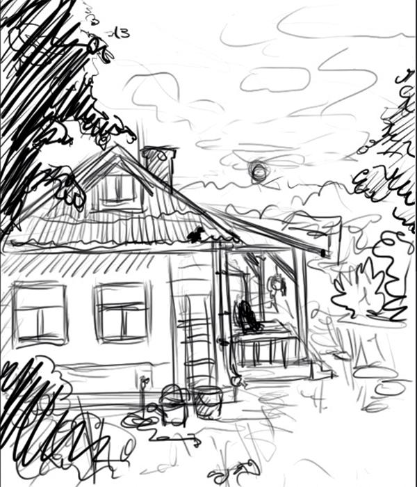 600x700 House