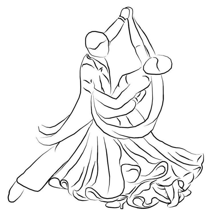 736x736 Drawings Of People Dancing Collection