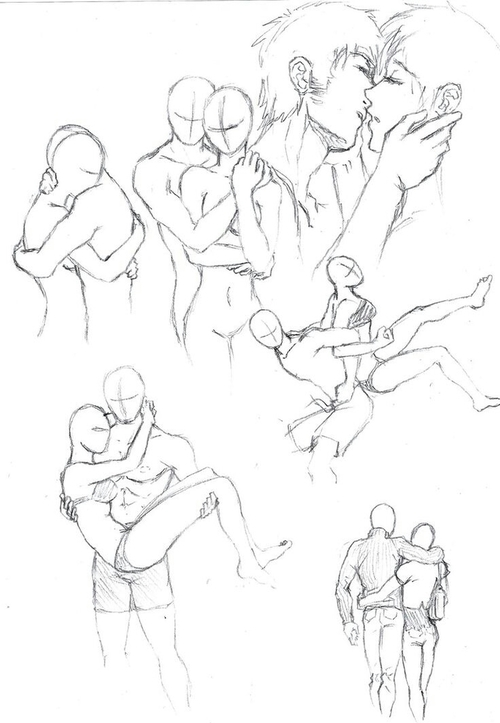 500x723 Draw Sketches Couple Shared By Plue Manga On We Heart It