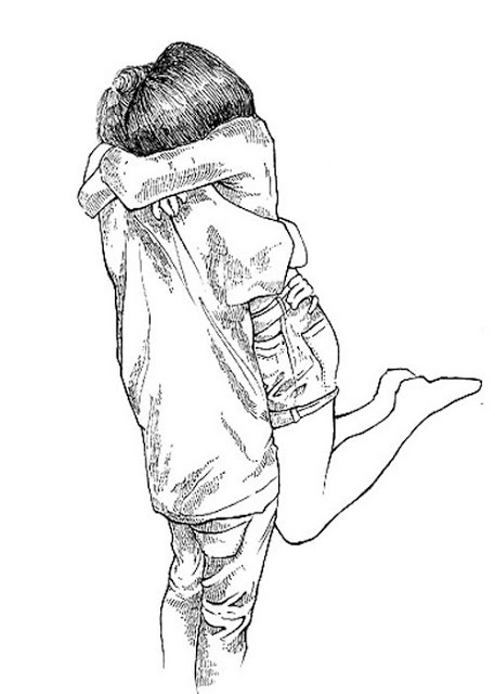 457x640 Photos Couple Hugging Drawing Tumblr,