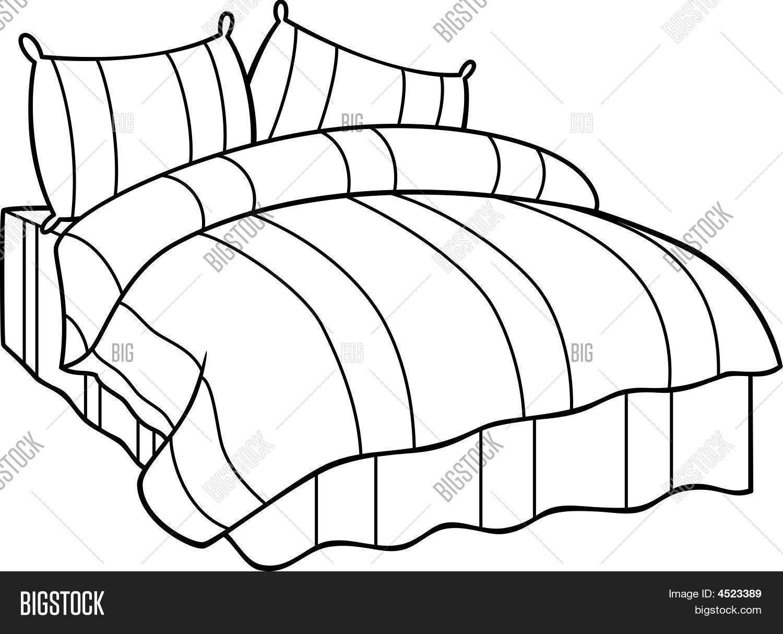 1500x1214 Comfortable Bed Vector Amp Photo Bigstock