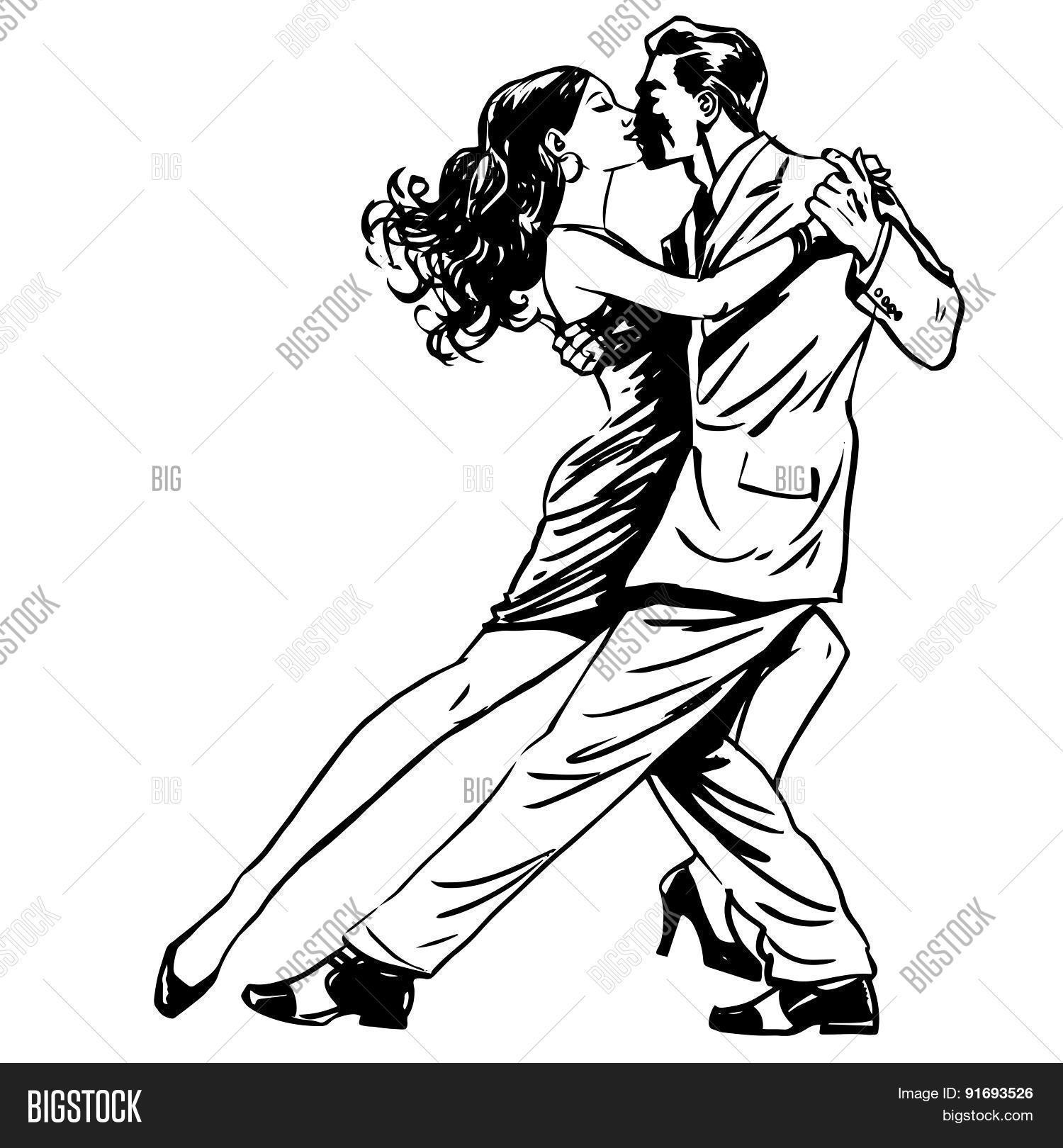 1500x1620 Kiss Man Woman Dancing Couple Vector Amp Photo Bigstock
