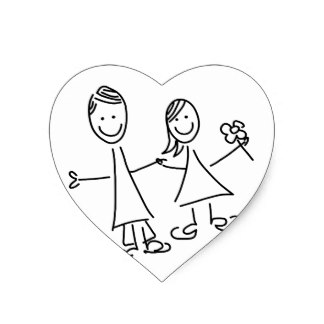 324x324 Love Couples Holding Hands Stickers Zazzle