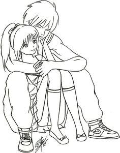 236x301 Chibi Anime Couples Hugging. Chibi Anime Couples Hugging. Art