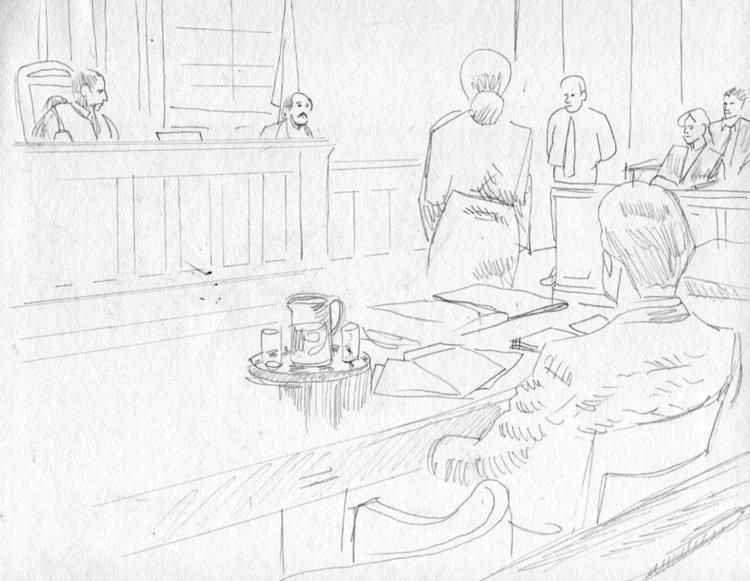 750x581 Final Courtroom Sketch Art Top Shelf Productions