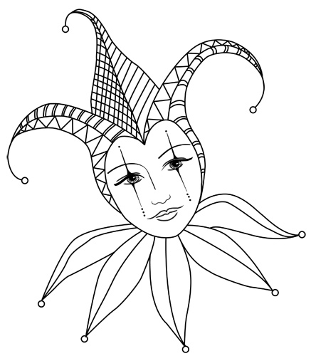 437x500 Lady Jes 1 Zentangles, Doodles And Drawings