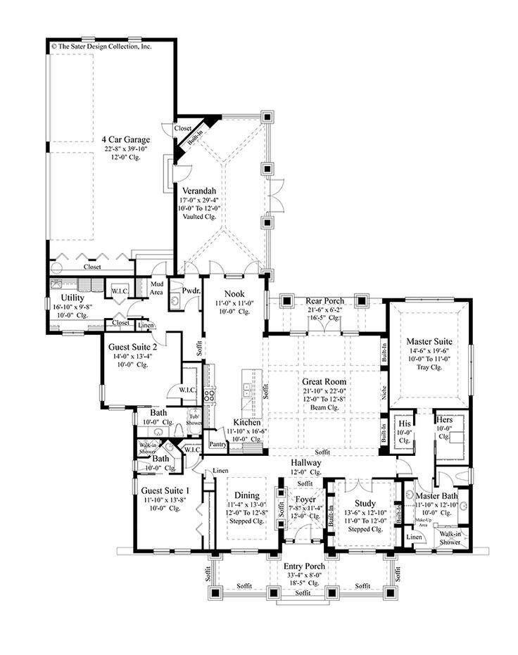 736x931 604 Best Floor Plans Images On Floor Plans, House