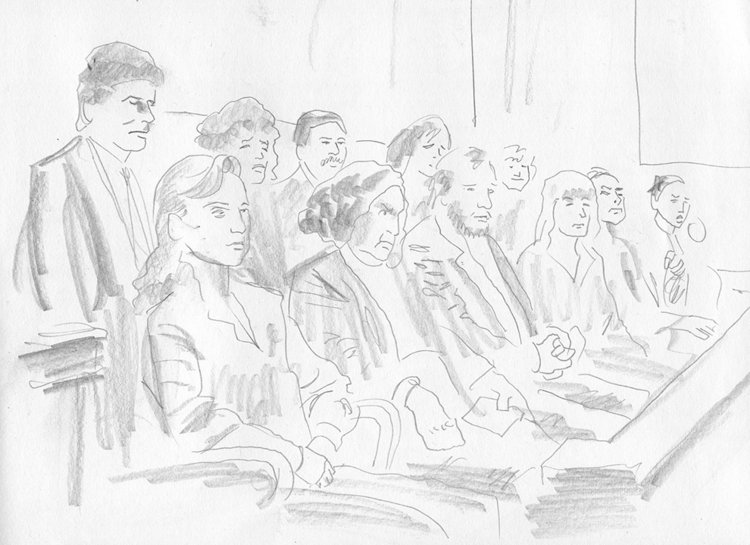 750x545 More Courtroom Sketch Art Top Shelf Productions