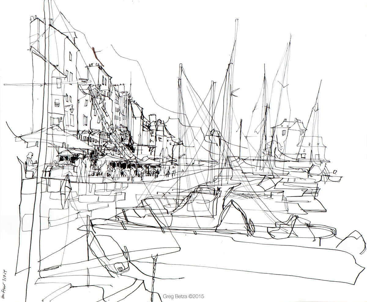 1200x988 Mont Saint Michel And Honfleur Urban Sketchers