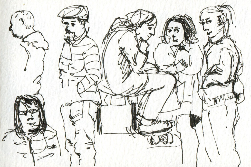 1030x686 Sketching Tips People As Stories Urban Sketchers