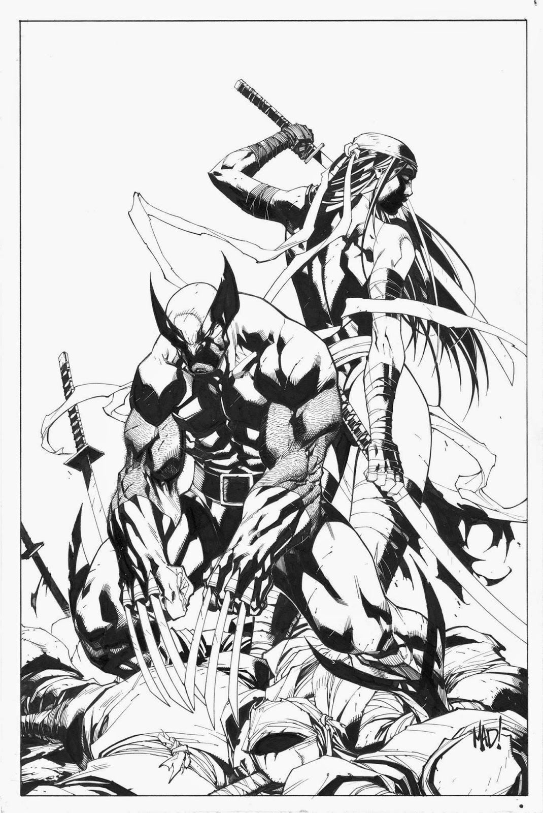 1070x1600 Joe Madureira ! Fansite Joe To Draw Variant Cover To X Men
