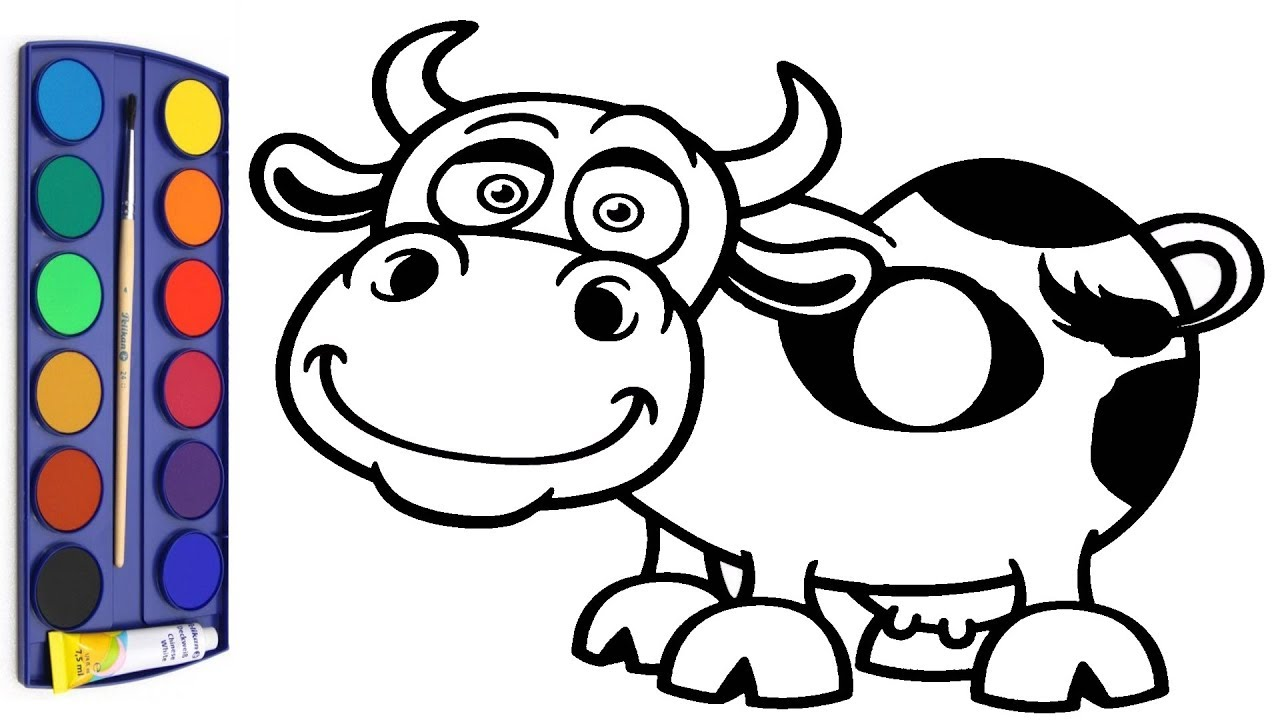 Cow Drawing at GetDrawings.com | Free for personal use Cow Drawing ...