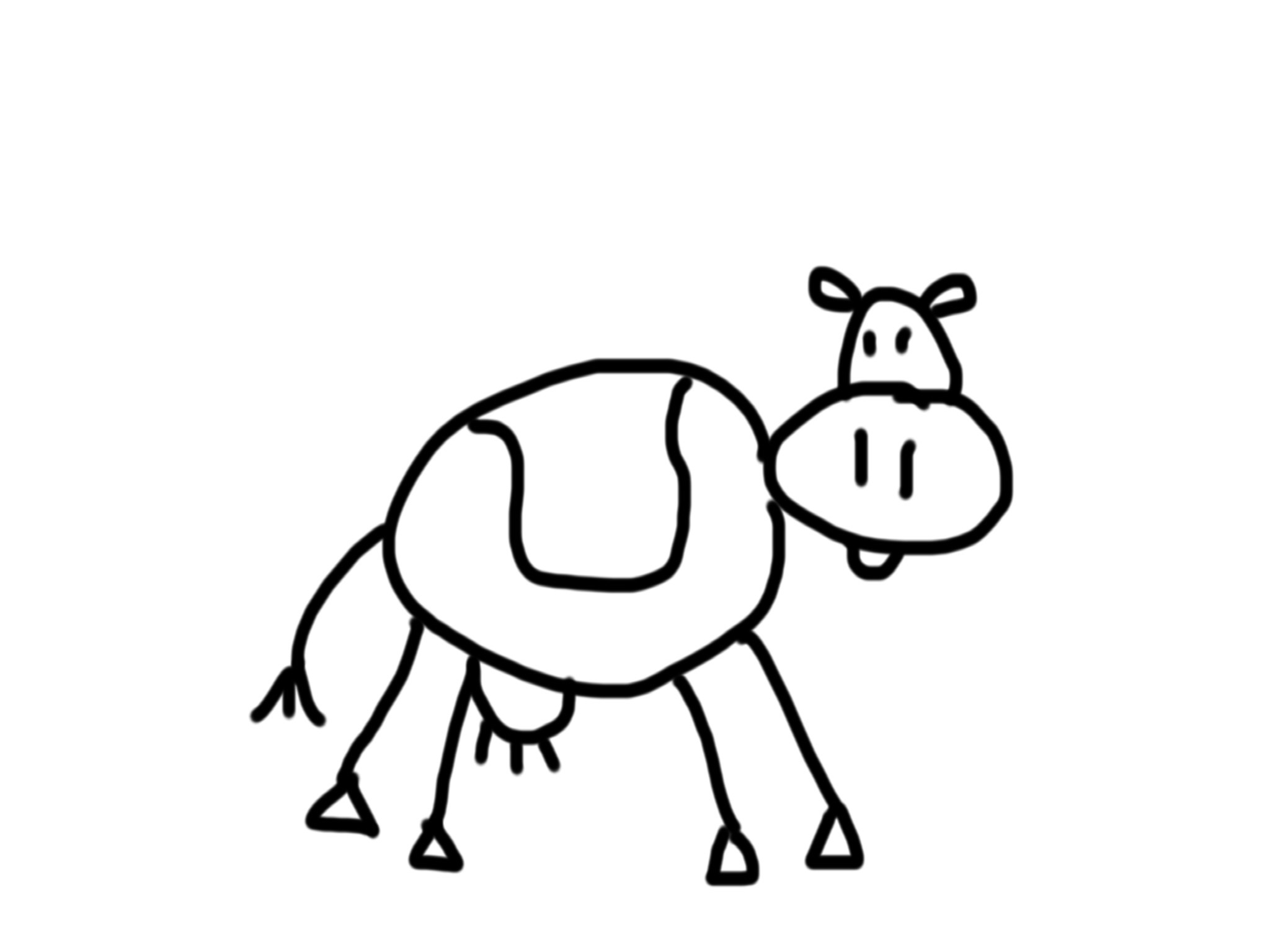 2048x1536 Steve From Blue's Clues Taught Me To Draw A Cow (And More