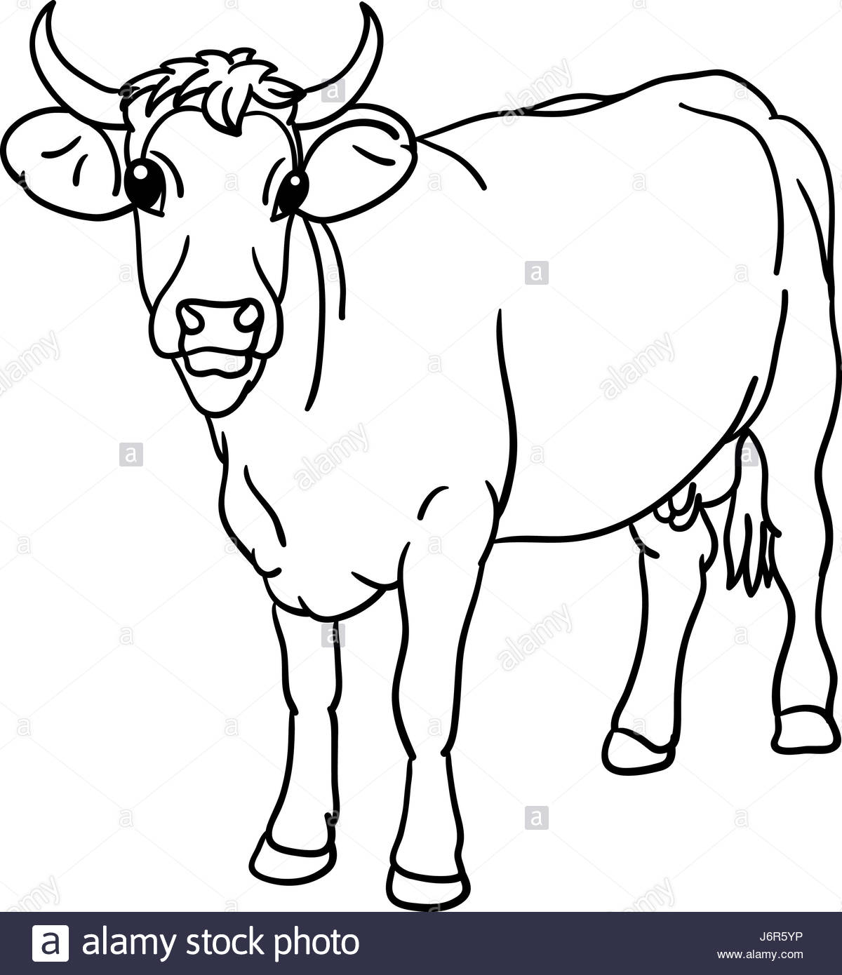 1200x1390 Isolated Animal Illustration Cow Draw Art Isolated Animal Mammal
