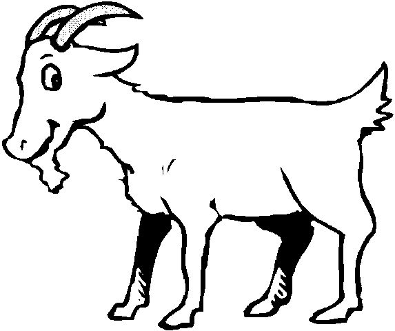 Cow Line Drawing