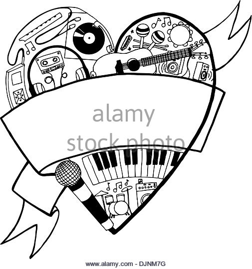 505x540 Cowbell Instruments Drum Kit Stock Photos Amp