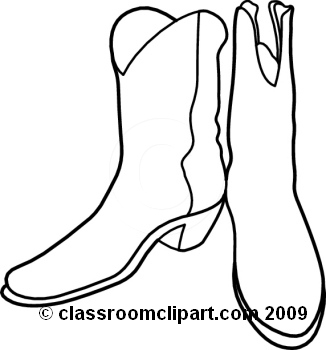 326x350 Cowboy Boots Clipart Black And White Clipart Panda