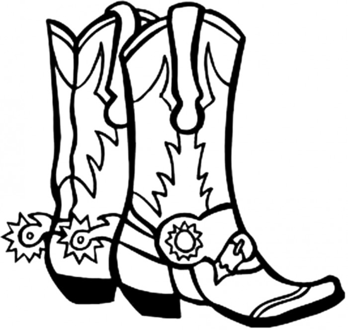 700x664 Pictxeer Search Results Cowboy Boot Drawings Cliparts.co