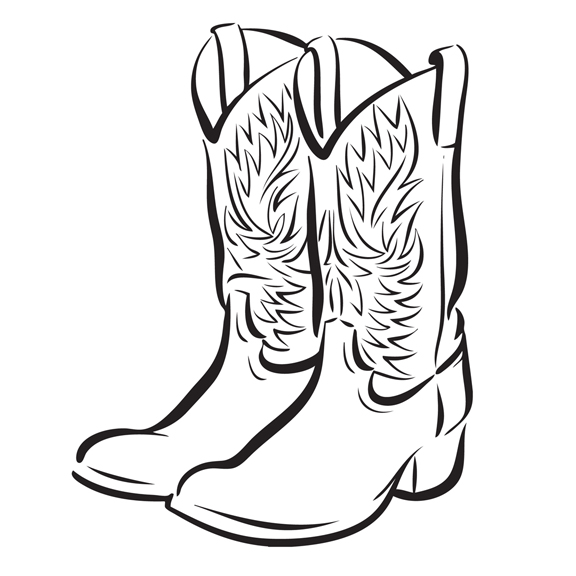 cowboy boot drawing at getdrawings com free for personal use rh getdrawings com