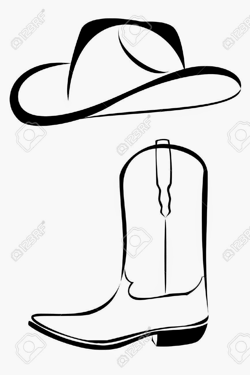 867x1300 Cowboy Boot Drawing Viewing Gallery Fashion's Feel Tips