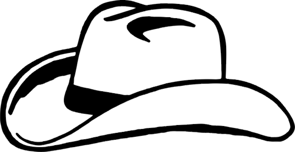 cowboy boots and hat drawing at getdrawings com free for personal rh getdrawings com Cowboy Hat SVG Cowboy Hat Drawing