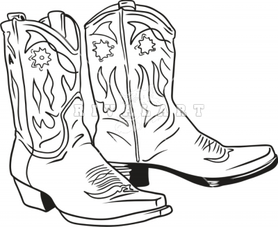 400x327 Country Cowboy Boots Clip Art Black And White Cowboy Stuff