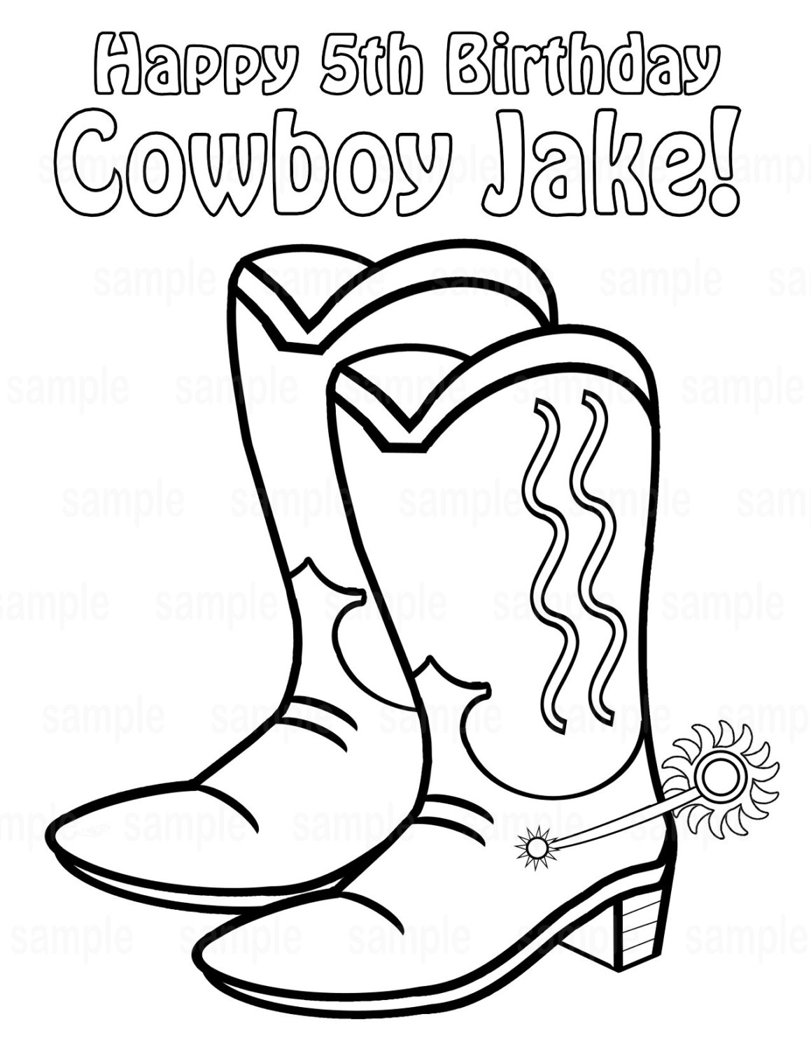 Cowboy Boots Drawing at GetDrawings.com | Free for personal use ...